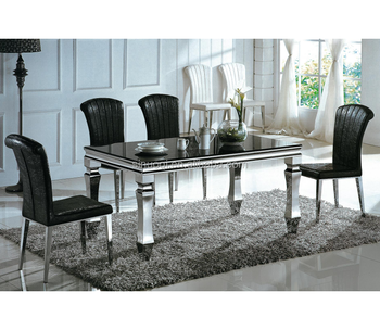 simple home furniture dining room designs glass dining table kitchen rh alibaba com kitchen table set pub table kitchen table set pub table