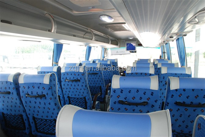 China modern design LOWEST price brand new rear engine zhongtong bus lck6120A LUXURY 60seaters coach 60 passengers bus