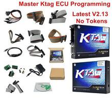 Hottest Master V2.13 KTAG ECU Chip Tuning K TAG ECU Programmer KTAG V2.13 Master Version K-tag No Tokens Limitation Best Price
