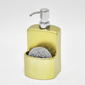 Nice Kitchen Gold Color Design Liquid Soap Dispensers With Foam Pump ...