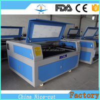 NC-C1290 8 YEARS FACTORY New Design dust exhaust 1390 co2 laser