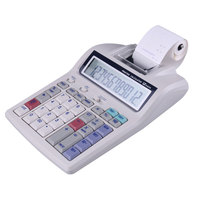 Thermal Printing Calculator With New 12 Digit Office Desktop Calculator/Kalkulator Print