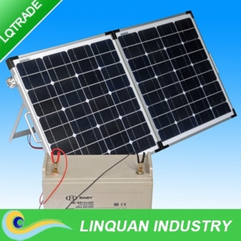 Fantastic 100 Watt Portable Folding Solar Panel Kit With Regulator Wiring And Wiring Cloud Hisonuggs Outletorg