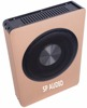 High Power Compact Size 8 inch Under Seat Subwoofer Box