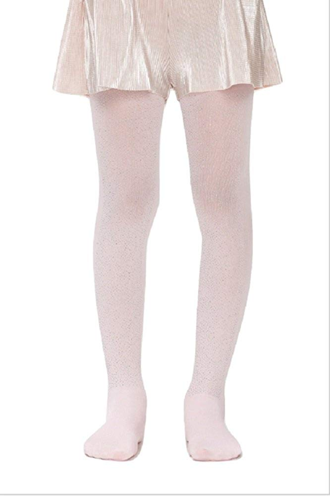 5cb9cc1eb083e Get Quotations · Penti Pretty Shiny Girls Printed Kids Footed Tights 50 DEN  (Pink) (2 (