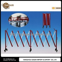 Highway Expandable Road Safety Barrier With Casters