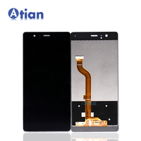 Display LCD para Huawei P9 LCD Screen Display Toque Digitador Assembléia para Huawei Ascend P9 EVA L09 L19 VIE L09 l29 Tela Lcd
