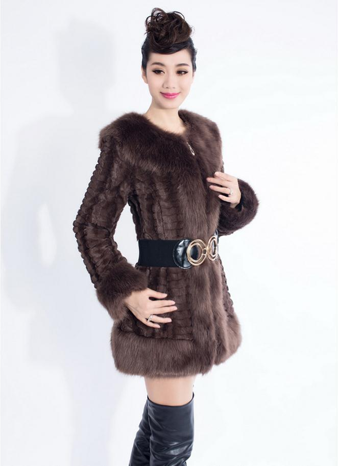 Hot sales product 2015 luxury brand fur coat high imitation rex rabbit hair ms fox fur fur fashion women noble winter clothing