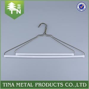 Chinese manufacturer good selling colorful wire metal coat hanger