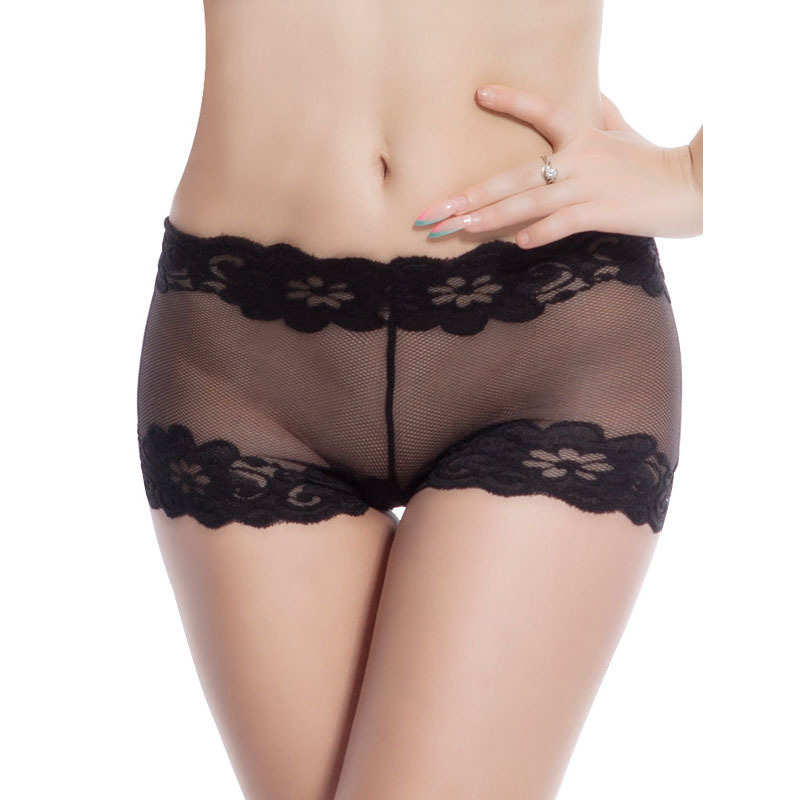 Think, that black lace panties sex something