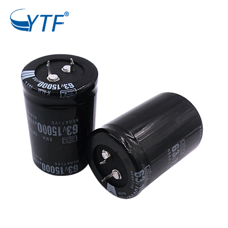 General High Voltage 15000uF Snap In Electrolytic Capacitor 63V