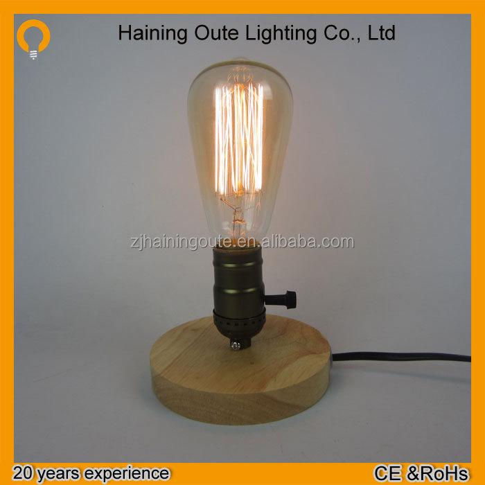 Vintage St58 Edison Bulbs 40w Carbon Filament Light Bulb With ...