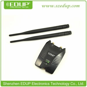 EDUP hot selling EP-MS8515GS Double Antenna Ralink 3070 USB Network Adapter for Computer & Laptop 1000mw High Power