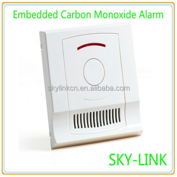 Home Smart Security Independent Carbon Monoxide Alarm Embedded