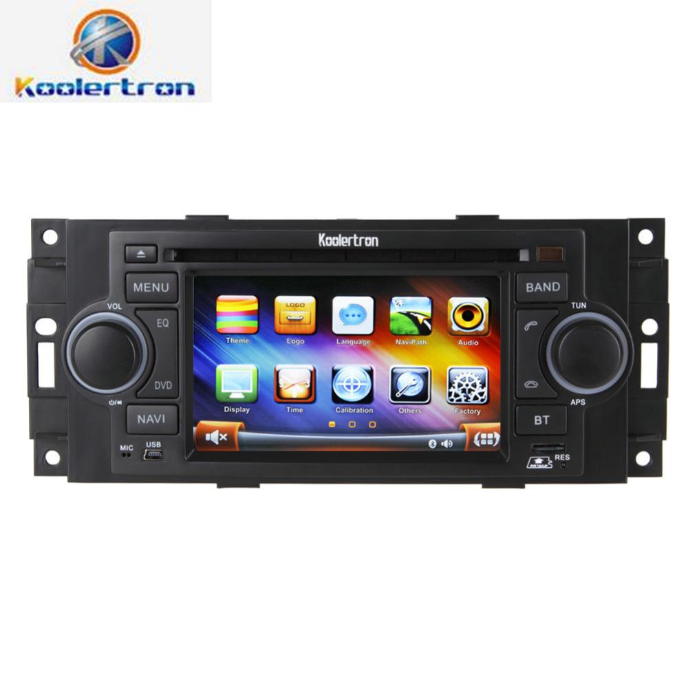 koolertron 5 car dvd player radio gps navigation stereo for chrysler 300c pt cruiser dodge 2007. Black Bedroom Furniture Sets. Home Design Ideas