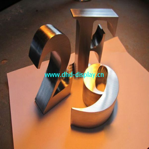 stainless steel channel number letter