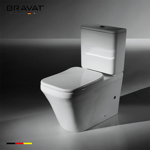Ceramic white color sanitary ware in yiwu China, white colored toilet bowl