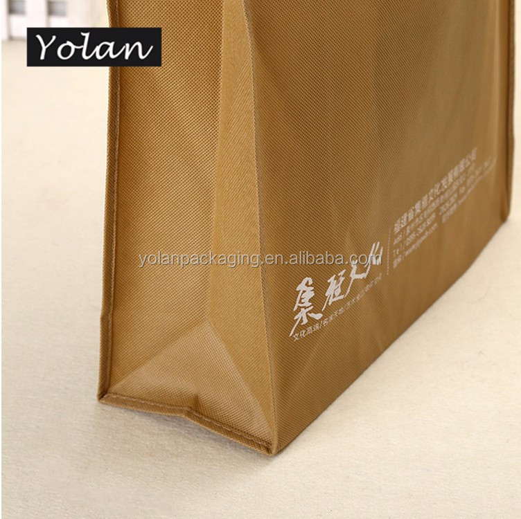 top quality good quality non woven bag with handle from manufacture