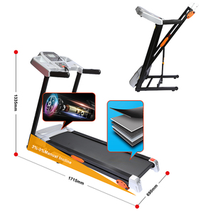 New design home exercise dual function walking running machine with good price