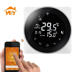 haisen brands home usage wifi programmable thermostat for room floor heating parts