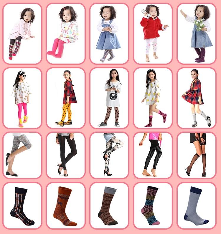 192333356 Classical Fashion Black Kids Semi-high Cotton Socks