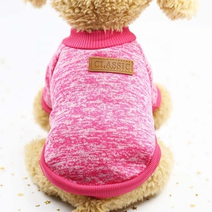 Dog Apparel, Pet Dogs Puppy Fleece Sweater Clothes Autumn Winter Warm Sweater