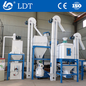 automatic poultry animal granulator stainless feed mill for corn and barley 1/3/5/10 ton per hour processing machine