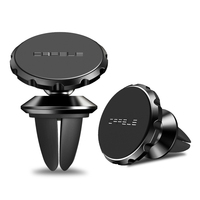 2018 Hot sale Mobile Phone Accessories 360 Degree Rotation Sticky Mini Magnetic Phone Car Mount Holder