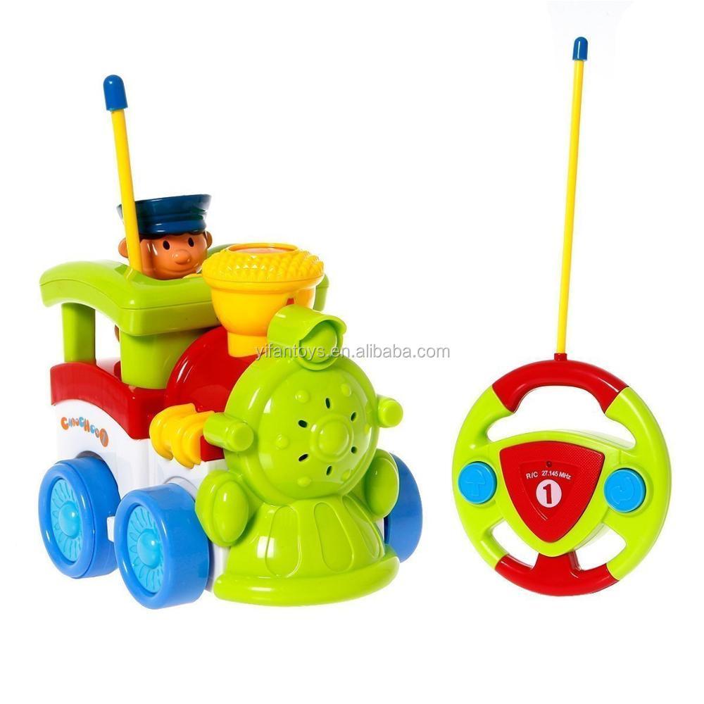 Y Coche Luz Buy coche Tren Animados Dibujos Juguete Niños Con 2 tren Juguete Para Música Animados Rc Ch De TJcK1lF