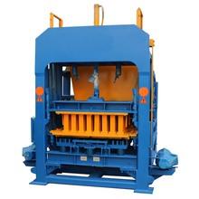 qt4-15c 5 inch hollow concrete paving block making machine production line