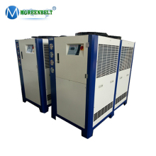 5 Ton 12HP Industry Cooling Air Cooled Chiller For Plastic Blowing Molding / Blowing Molding Chiller