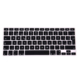Wholesale Spanish Silicone Keyboard Cover for Macbook, Keyboard Skin for Apple Mac Pro Retina 13