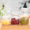 High quality l Round Clip Top Canning glass Jar Spice-Herb Jar with Clamp lid