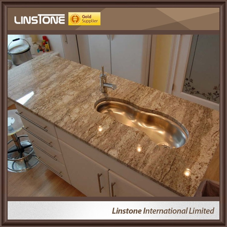 Chinesee Bordeaux Yellow Granite Composite Granite