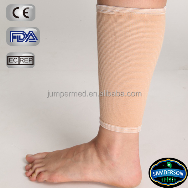 Comfortable and easily to put on/ off Elastic Calf Support