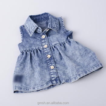 79df32b10a High quality and cheap price baby cotton frocks designs without sleeves  girl casual dresses china alibaba