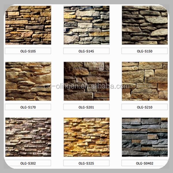 Panel decorativo de pared de piedra artificial piedras - Panel decorativo pared ...