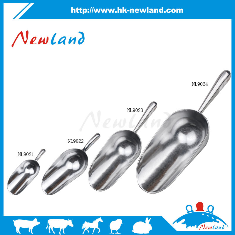 NL902 Hot sales high quality veterinary animal feed scoop aluminium