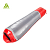 Factory price travel camping outdoor 380T nylon fabric single person 0 degree best down sleeping bag