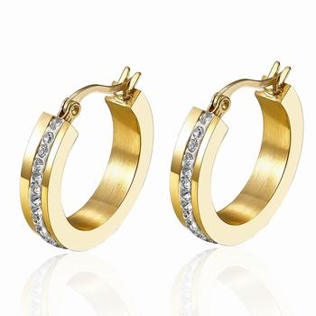 316l Stainless Steel Gold Earrings Designs With Price