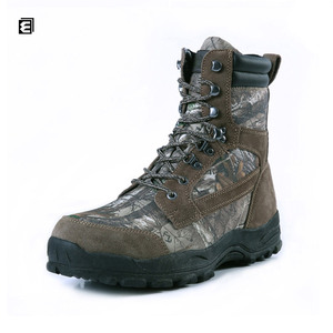 Wholesale Leather Neoprene Camouflage Camo Hunting Boots For Hunting