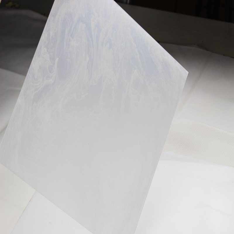 New Design Acrylic Marble Plastic Sheet Marble Patterned