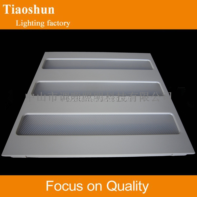 T5 3X28W Fluorescent Recessed Modular Louver Light Fitting