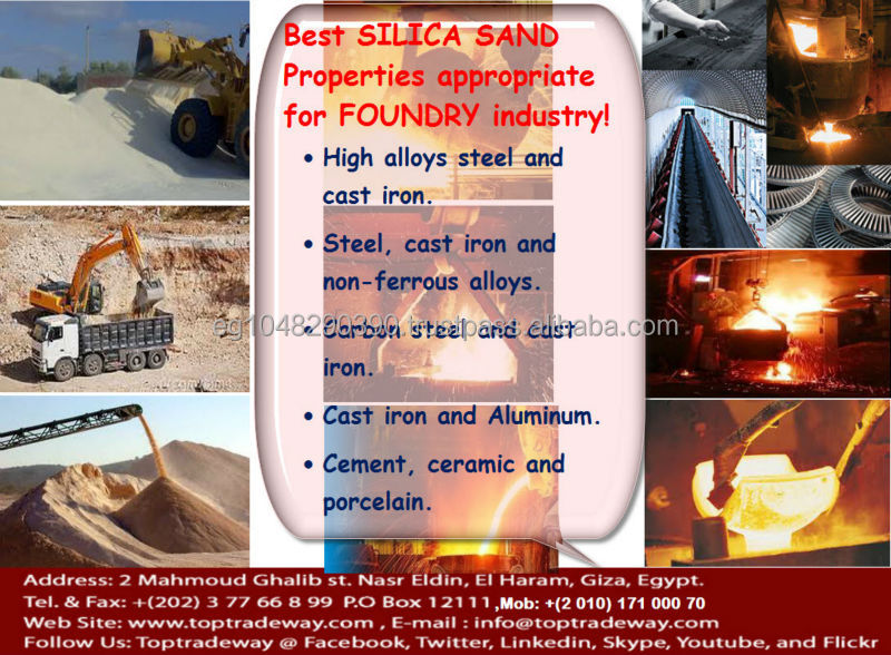 Pure Foundry Silica Sand