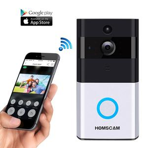 HOMSCAM WiFi Smart Ring Video Doorbell Camera wireless doorbell camera wireless video doorbell WIFI Video Doorbell