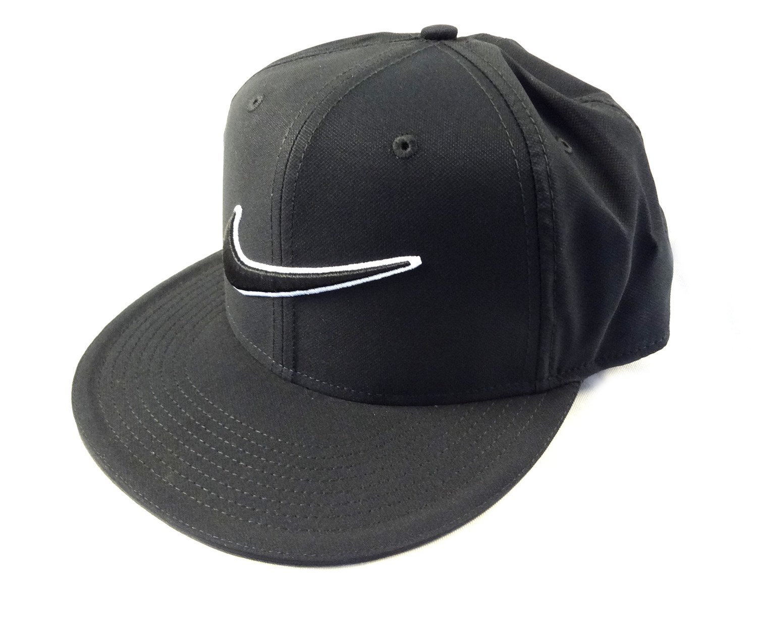 58e0a43d766 Get Quotations · Nike Golf True Snap Back Cap Black One Size