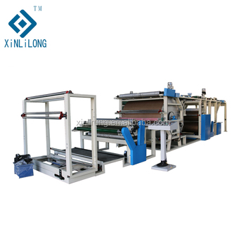 Glue dot transfer Laminating machine for textiles and non-woven Fabric