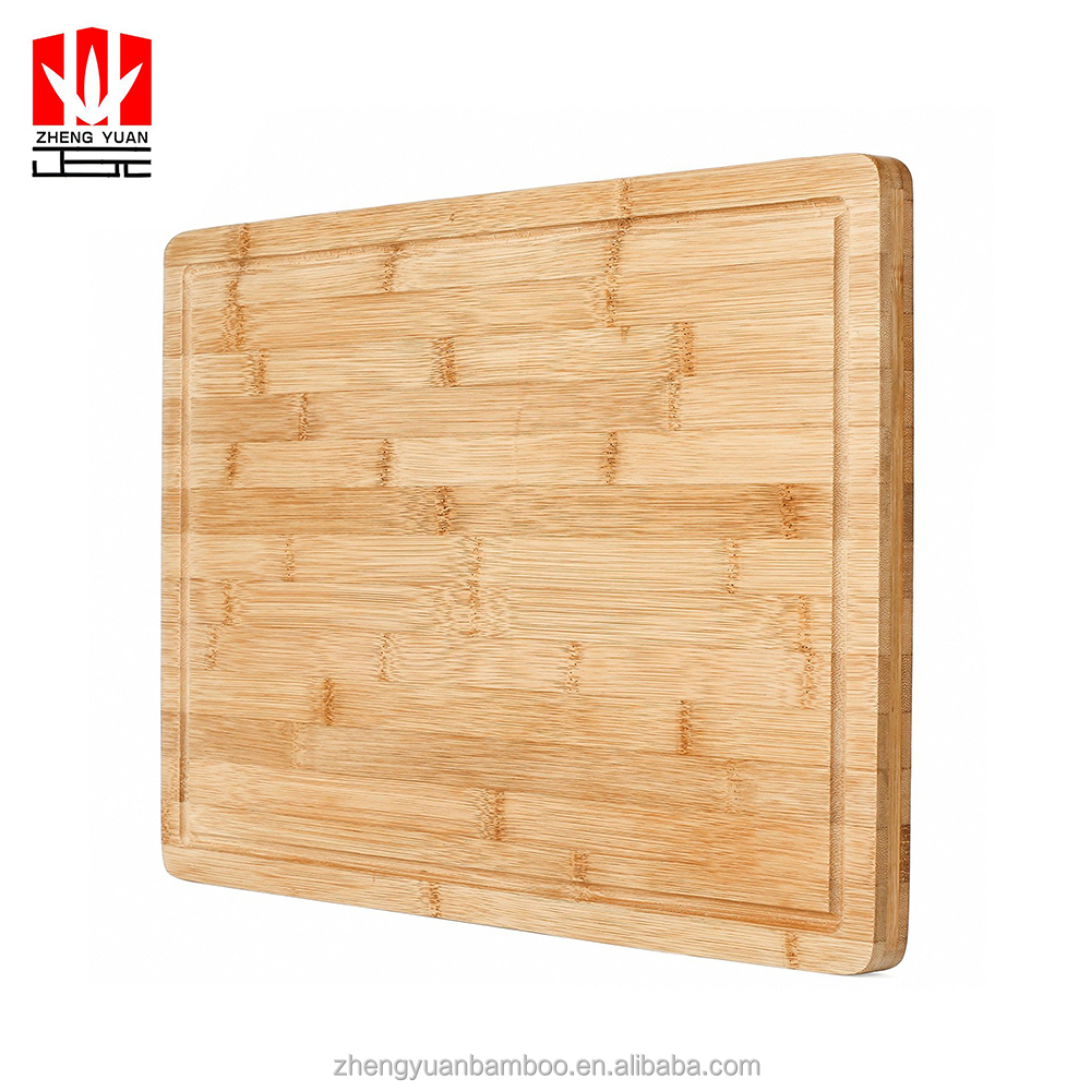 custom extra large and thickened bamboo cutting board chopping block