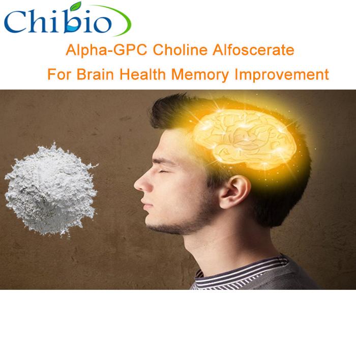 100% Fabrikant Pharma Grade Alpha-Gpc Poeder Drug Voor Alzheimer Ziekte