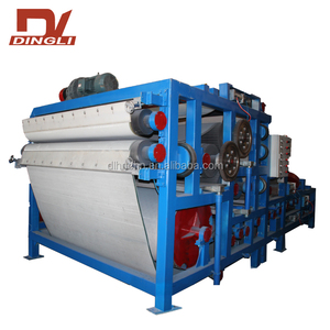 Continuous Operation Wastewater Slurry Dehydration Treatment Belt Filter Press